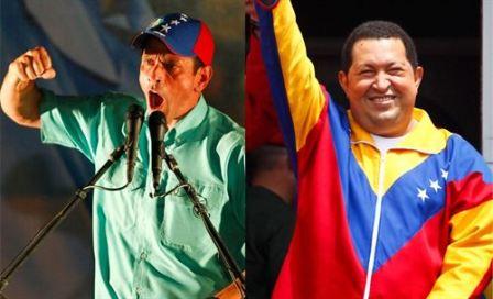 Capriles-y-Chavez,-a-dos-dias-del-fin-de-la-campana