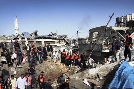 Israel-bombardea-por-aire-y-mar-la-Franja-de-Gaza