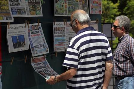 Apagon-informativo-en-Grecia-por-huelga-de-los-periodistas