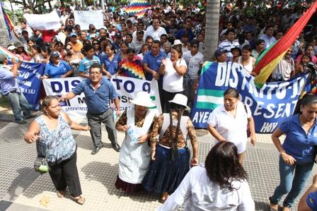 Sectores-sociales-en-Santa-Cruz-festejaron-aniversario-del-Estado-Plurinacional