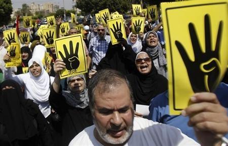 Miles-de-seguidores-de-Mursi-marchan-en-Egipto;-seis-muertos