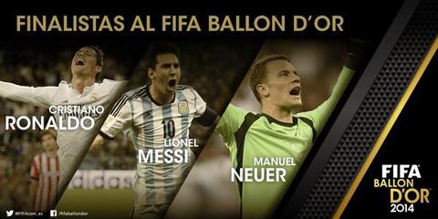 Neuer,-Messi-y-Ronaldo,-finalistas-al-Balon-de-Oro