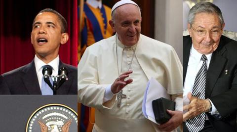 Francisco--vivamente-complacido-por-decision-historica--de-EEUU-y-Cuba-