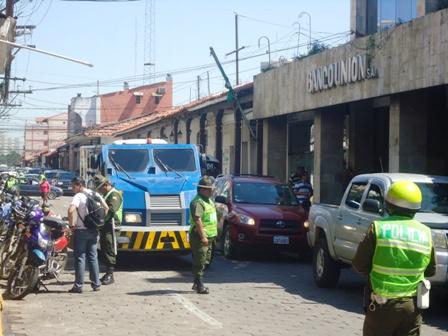 Patrullaje-policial-se-focaliza-en-el-centro