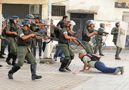 Denuncian-represion-e-impunidad-en-Venezuela