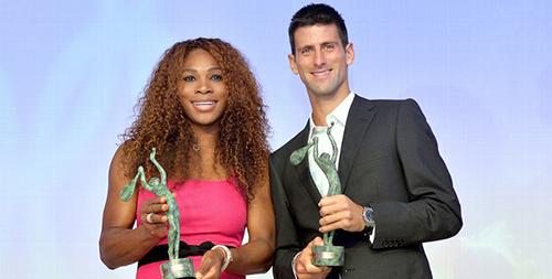 -Serena-Williams-y-Novak-Djokovic,-jugadores-del-ano-de-la-ITF