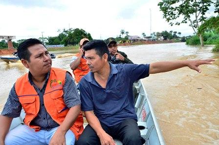Evacuan-a-familias-en-Cobija-por-riesgo-de-riadas-y-en-Beni-llueve