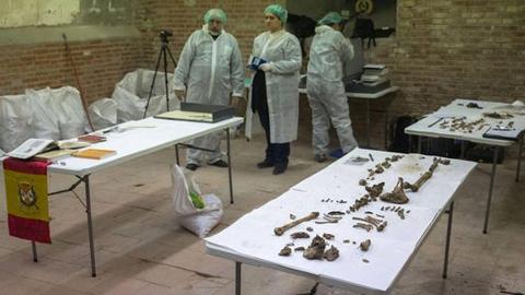 Confirman el hallazgo de los restos de Miguel de Cervantes