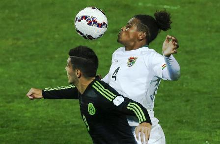 """Bolivia-iguala-con-el-equipo-""""B""""-de-Mexico"""