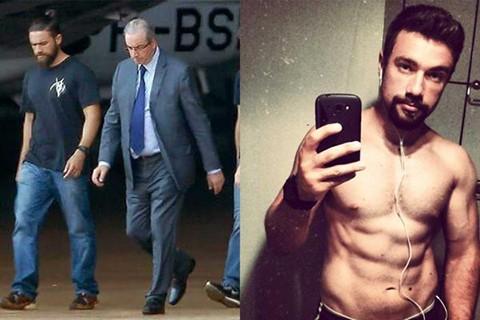 El-policia--hipster--que-detuvo-a-Eduardo-Cunha-causa-furor-en-Internet-
