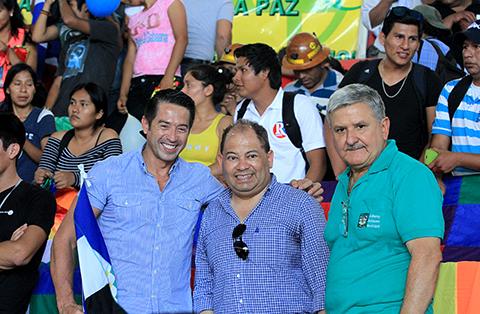 El-alcalde-de-La-Guardia,-Jorge-Morales,-asistio-al-Congreso-del-MAS