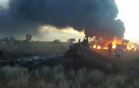 Cae-un-avion-de-carga-en-Colombia-y-mueren-cinco-personas