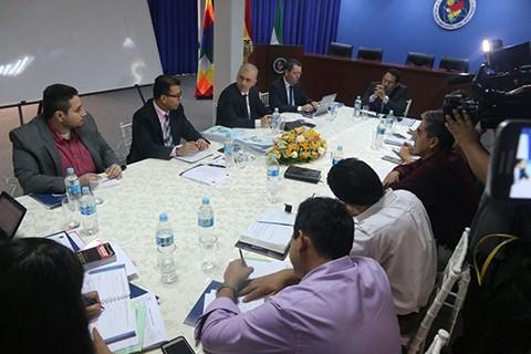 Fiscales-de-Colombia-y-Brasil-inician-reunion-con-el-Ministerio-Publico-boliviano