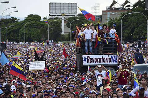 Oposicion-retomara-protestas-contra-Maduro-tras-congelacion-del-dialogo
