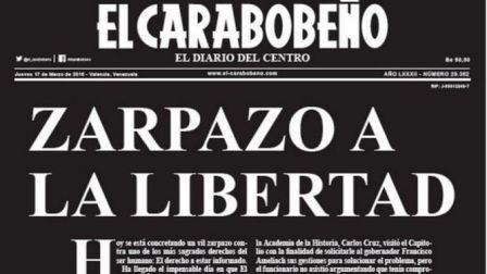Diario-cierra-en-Venezuela-por-falta-de-papel