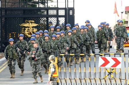 EEUU-y-Corea-del-Sur,-en-maniobras-militares