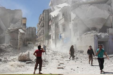 Explota-un-coche-bomba-en-Damasco-