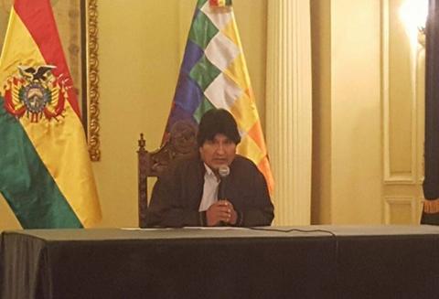 Tras-mutuas-demandas,-Morales-ofrece-dialogo-a-Chile-sobre-todos-los-temas