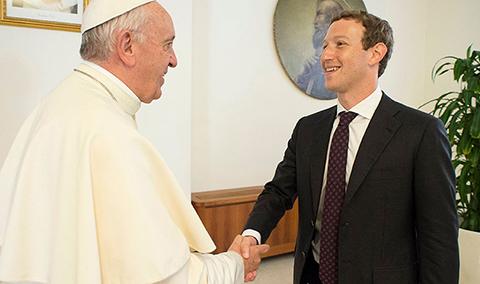 El-papa-conversa-sobre-como-ayudar-a-los-pobres-con-el-creador-de-Facebook