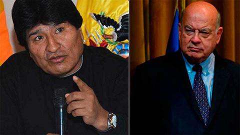 Morales-responde-a-Insulza-y-rechaza-dialogo-condicionado-con-Chile