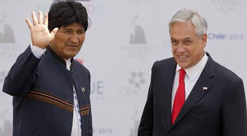 Tras-el-triunfo-de-Pinera,-Morales-espera-que-prevalezca-el-reencuentro-entre-Chile-y-Bolivia