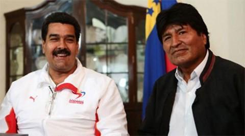 Evo-sale-en-defensa-de-Maduro-y-cree-que-OEA-actua-como-ministerio-de-la-colonia-de-EEUU