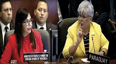 La-dura-respuesta-de-la-canciller-paraguaya-a-la-venezolana-Delcy-Rodriguez