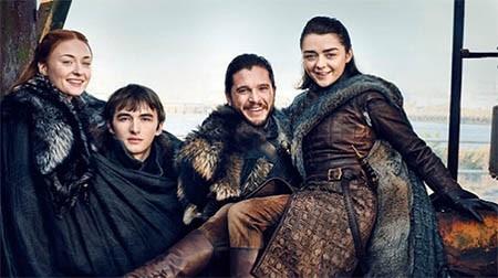 -Game-of-Thrones--da-a-conocer-nuevas-imagenes-y-los-Stark-se-reunen-para-sesion-de-fotos