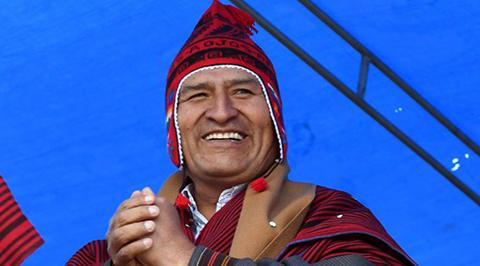 Evo-anuncia-que-Bolivia-denunciara-ante-la-OEA-la-tortura-de-bolivianos-detenidos-en-Chile