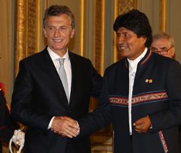 Evo-Morales-y-Mauricio-Macri-se-reunen-en-Mendoza