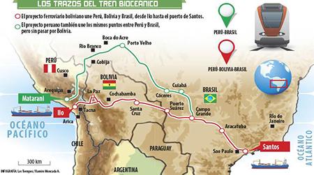 Bolivia-y-Peru-se-reunen-para-retomar-el-proyecto-Tren-Bioceanico