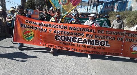 Carpinteros-protestan-contra-los-productos-chinos-en-La-Paz