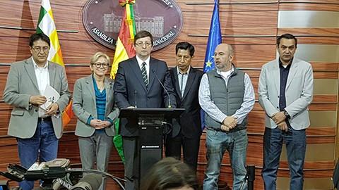 Ortiz,-Murillo-y-Rodriguez-rechazan-la-accion-del-MAS,-que-busca-repostular-a-Evo