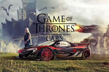 Los-autos-para-Game-of-thrones
