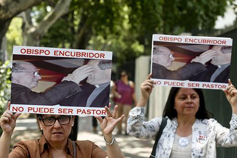 El-papa-Francisco-llega-a-Chile-entre-protestas