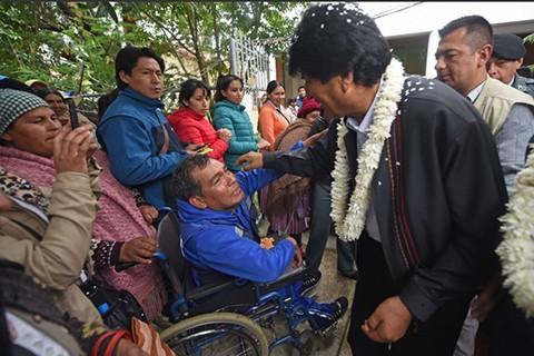 Evo-ratifica-compromiso-de-proteger-a-personas-con-discapacidad