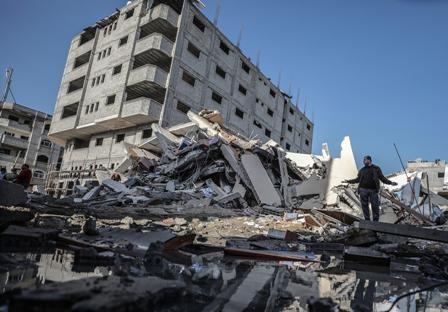 Fragil-tregua-en-Gaza-tras-lanzar-460-cohetes