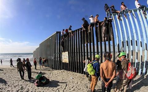 Caravanas-de-migrantes-coinciden-en-Ciudad-de-Mexico