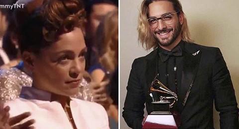 La-cara-de-disgusto-de-Natalia-Lafourcade-cuando-Maluma-gano-un-Grammy-