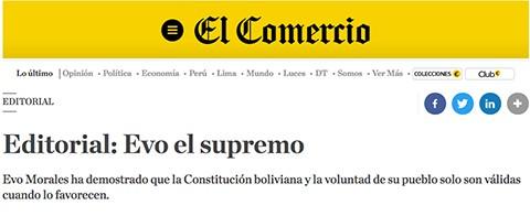 Diario-peruano:-Evo-atropello-de-forma-desvergonzada-la-voluntad-del-pueblo