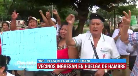 Vecinos-de-la-Villa-1-de-Mayo-ingresan-en-huelga-de-hambre-en-defensa-del-21F