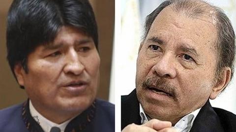 Evo-rechaza-la-aplicacion-de-la-Carta-Democratica-a-Nicaragua