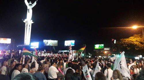 Se-masifican-las-manifestaciones-tras-la-habilitacion-de-Morales-y-Garcia-Linera