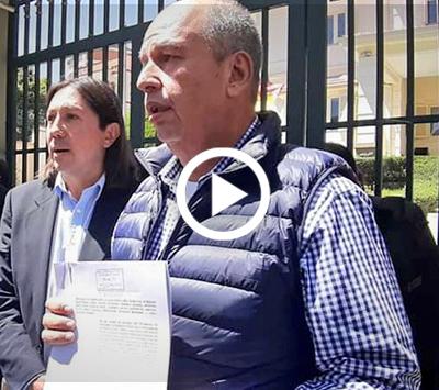 Murillo-y-Rivas-presentan-ante-el-TSE-impugnacion-contra-el-binomio-Evo---Álvaro