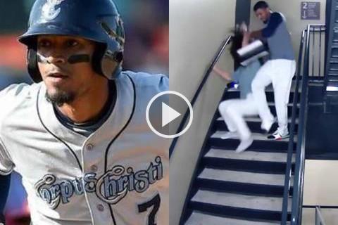 Publican-video-de-la-golpiza-que-el-beisbolista-Danry-le-propino-a-su-novia