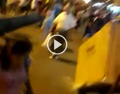 Se-registraron-enfrentamientos-entre-gendarmes-y-comerciantes-de-La-Ramada
