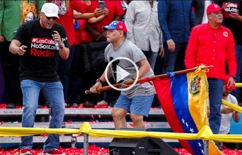 Vea-el-baile-de-Maradona-en-el-cierre-de-campana-de-Nicolas-Maduro