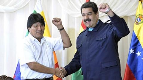 Gobierno-boliviano-felicita-a-Maduro-y-llama-a-no-dudar-de-su-legitimidad