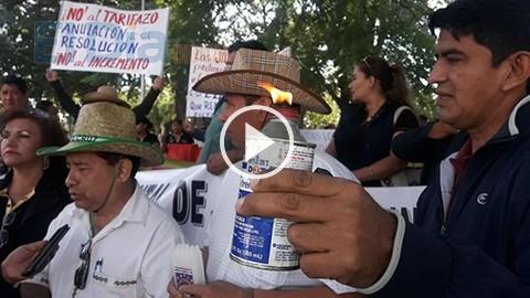 Fejuve-crucena-realiza-protesta-por-reajuste-tarifario-a-la-electricidad
