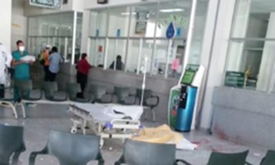 Un-hombre-se-lanza-del-tercer-piso-de-un-hospital